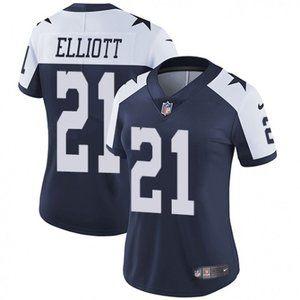 Women Cowboys Ezekiel Elliott Jersey